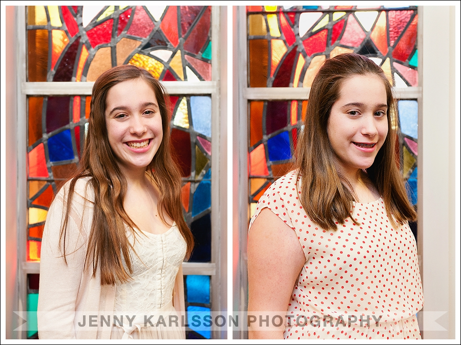 Twin Bat Mitzvah At Temple Sinai in Squirrel Hill Pittsburgh