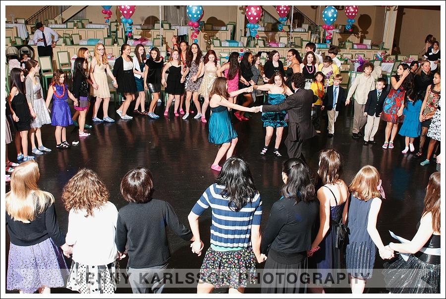 The Horah dance pittsburgh Bat Mitzvah