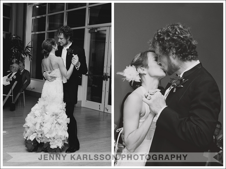 First dance at the  Phipps Conservatory and Botanical Garden wedding