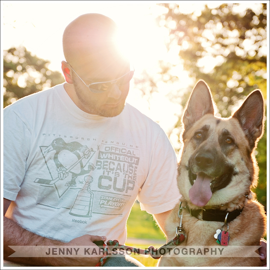 Pittsburgh Pet Photography in West Park