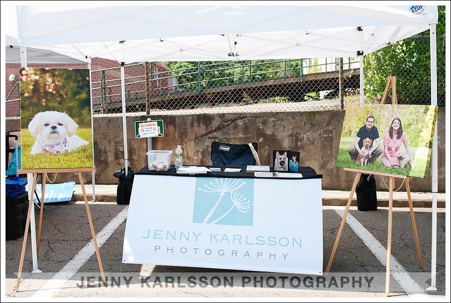 Jenny Karlsson Photography Tent
