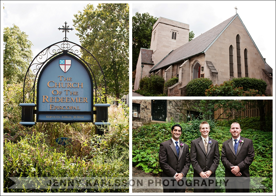 The Church of the Redeemer Wedding | Jenny Karlsson Photography