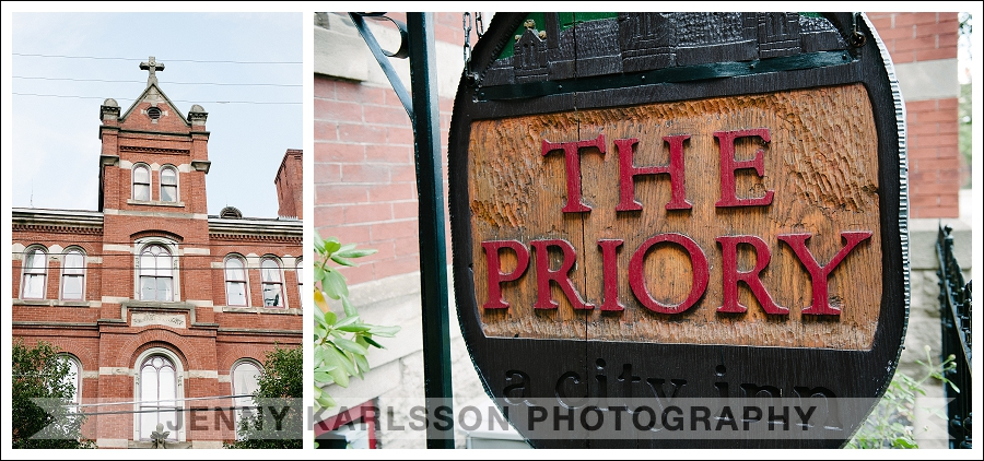 The Priory Hotel Wedding