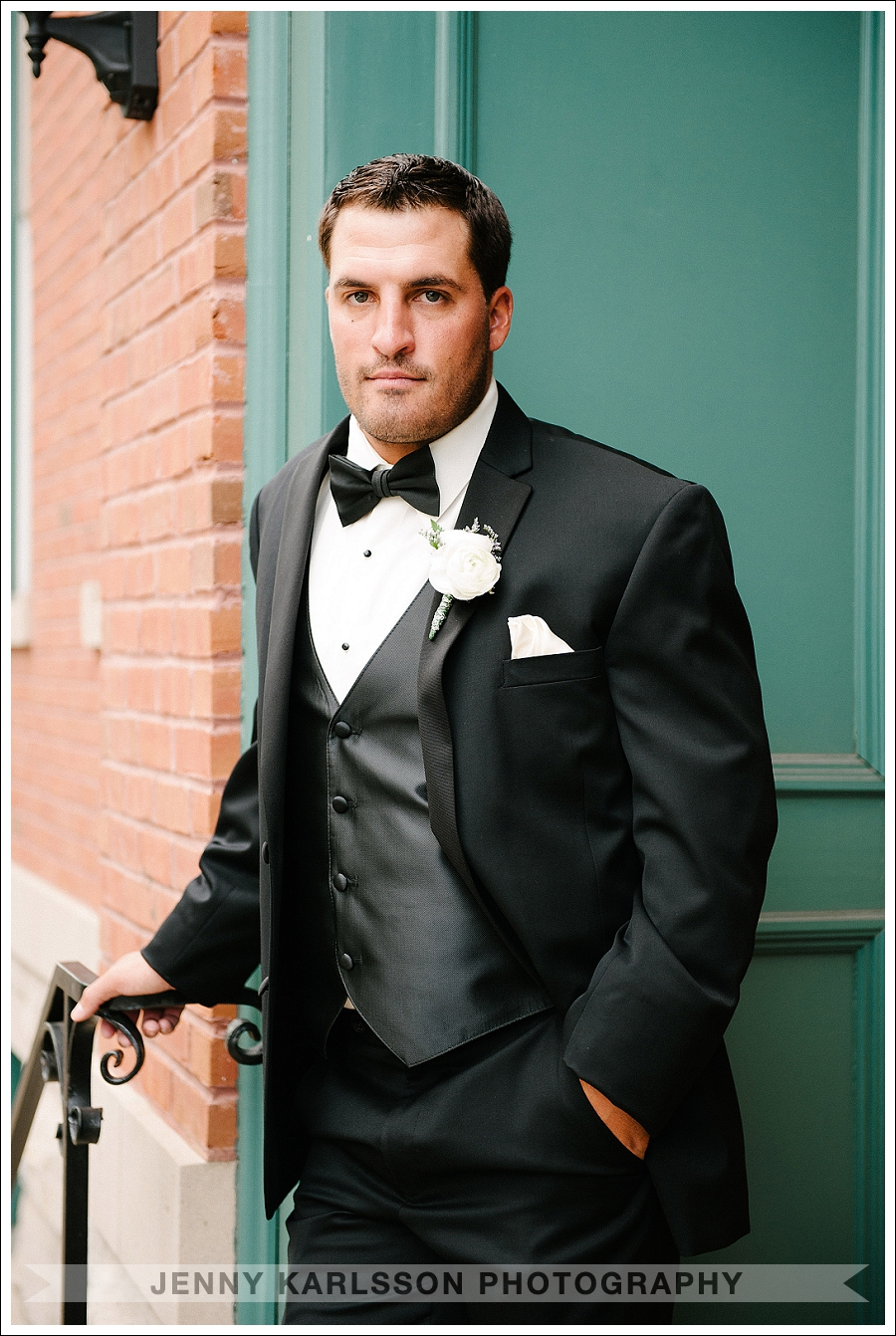 Groom at the Priory Hotel