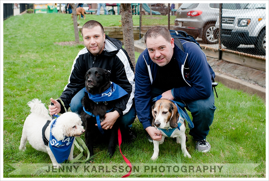 Bark Shadyside kick-off pup walk