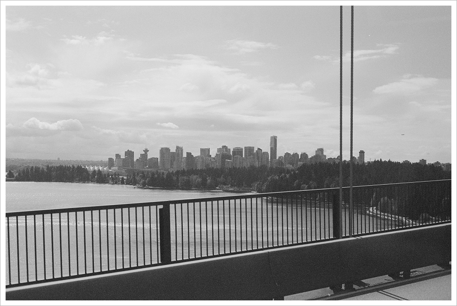 Vancouver from Lions Gate Bridge