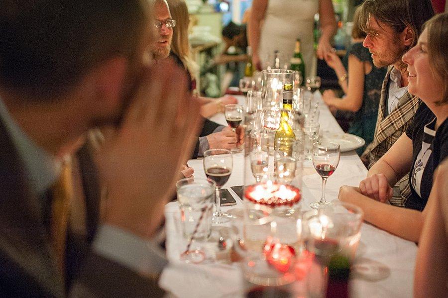 wedding reception at cafe du jour
