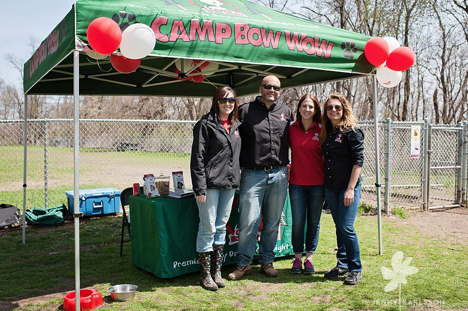 camp bow wow egg hunt