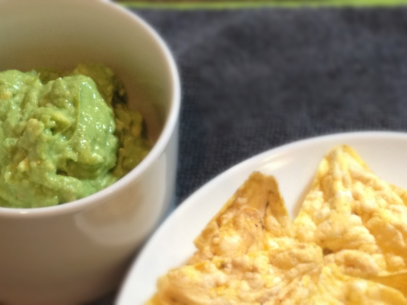gluten free popcorner chips with avocado and lime