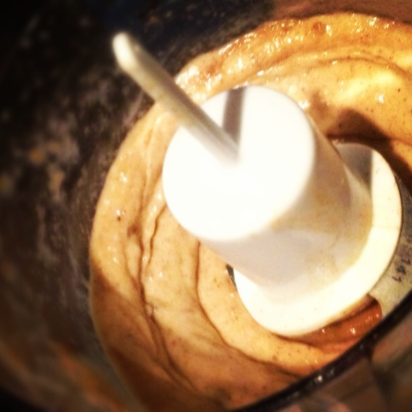 Blending the Banana Ice Cream!