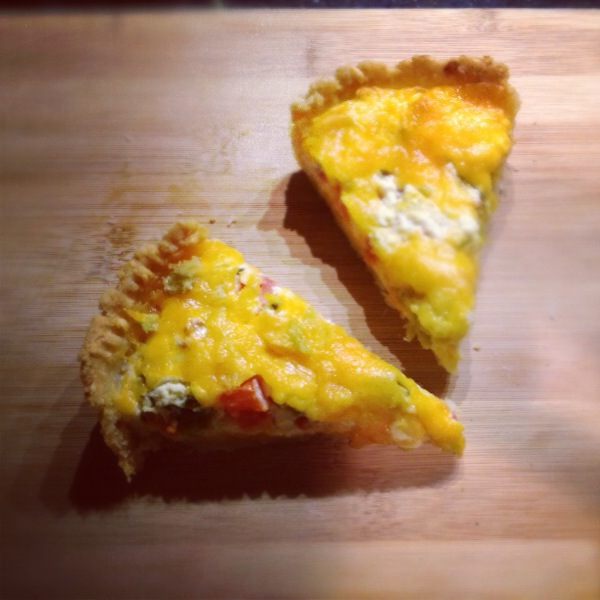 Gluten Free Quiche Slices