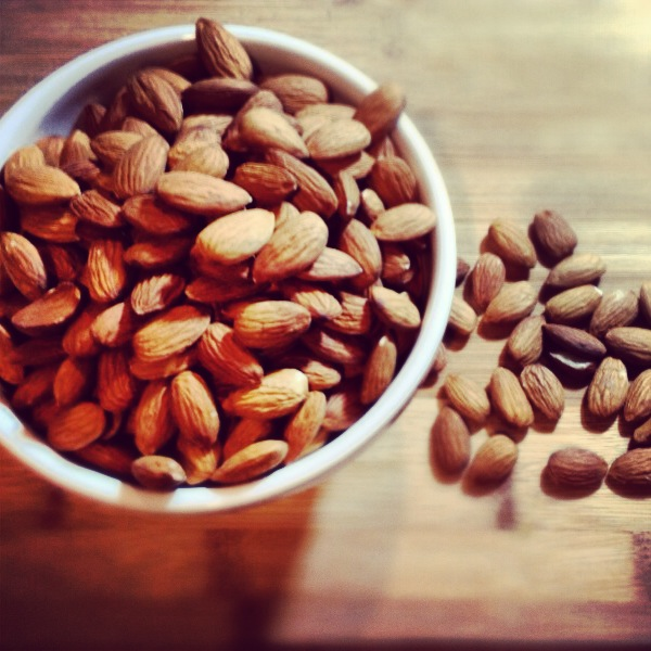 Homemade Almond butter is as easy as...
