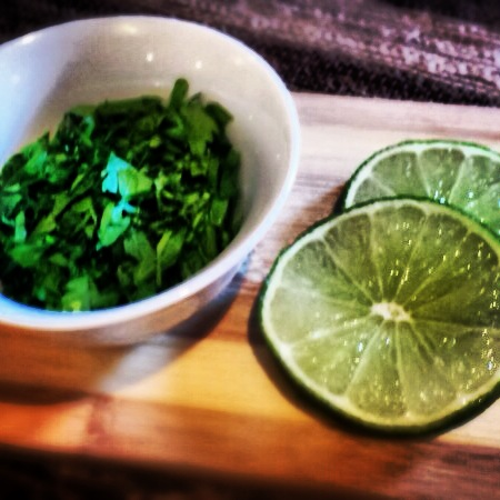 Cilantro, Parsley and Lime