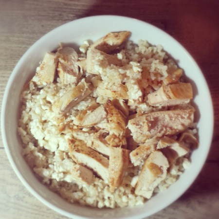 Brown Rice Chicken and Feta.JPG