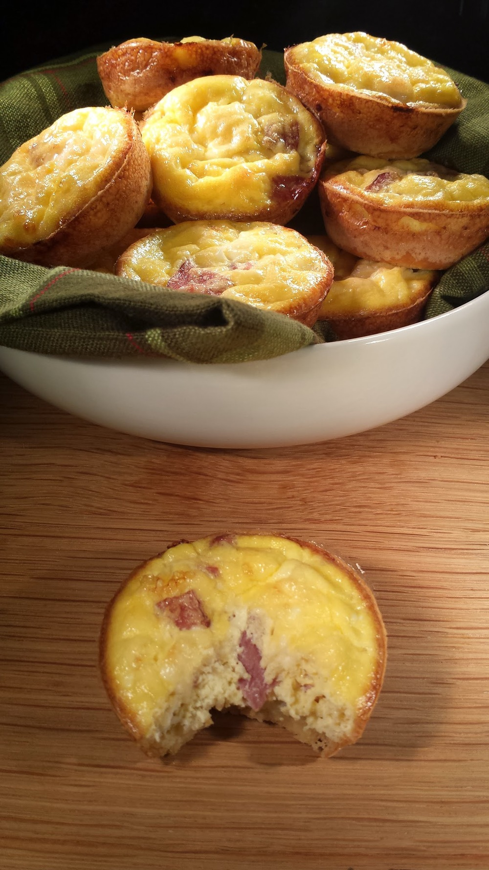 Mini Gluten Free Breakfast Quiche