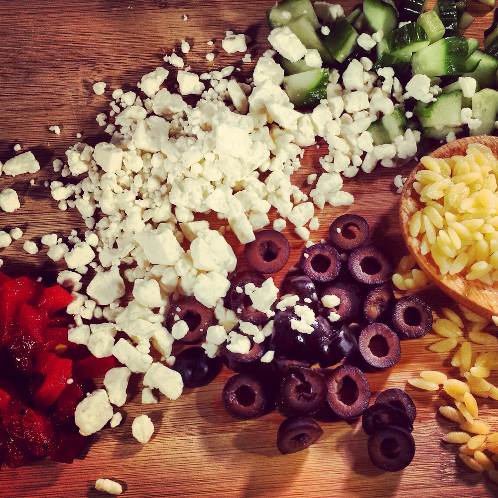 Feta Peppers Orzo Cucumbers Olives.JPG