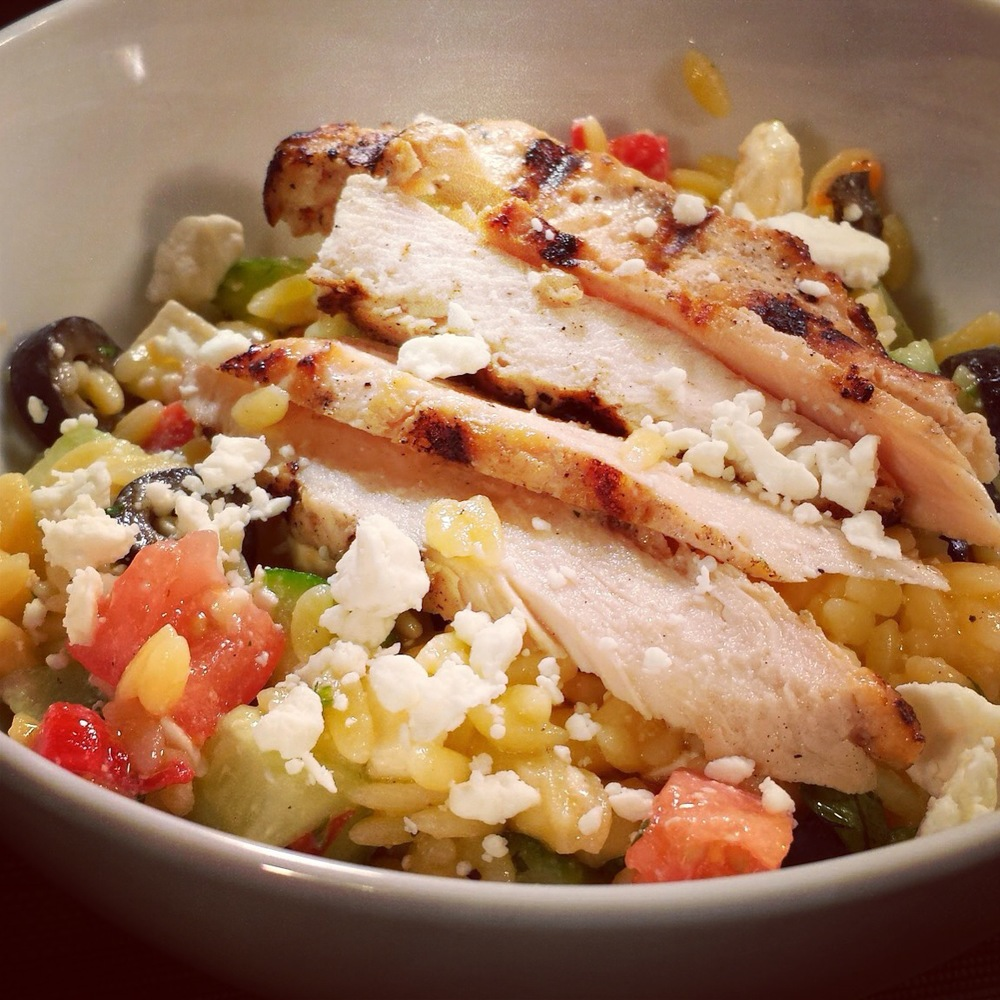 Greek Orzo Gluten Free Salad
