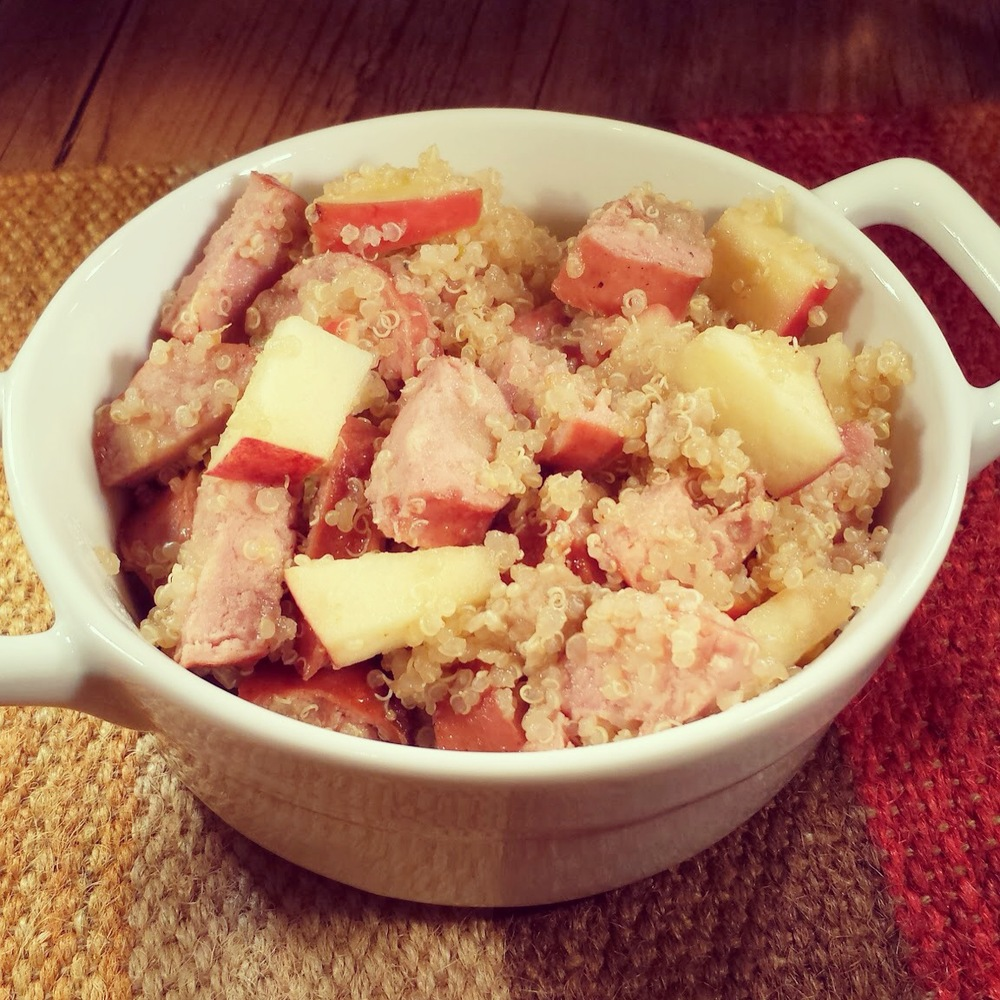 Quinoa Apples Chicken Sausage