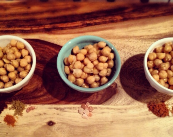Baked Chickpeas Salty Spicy Sweet