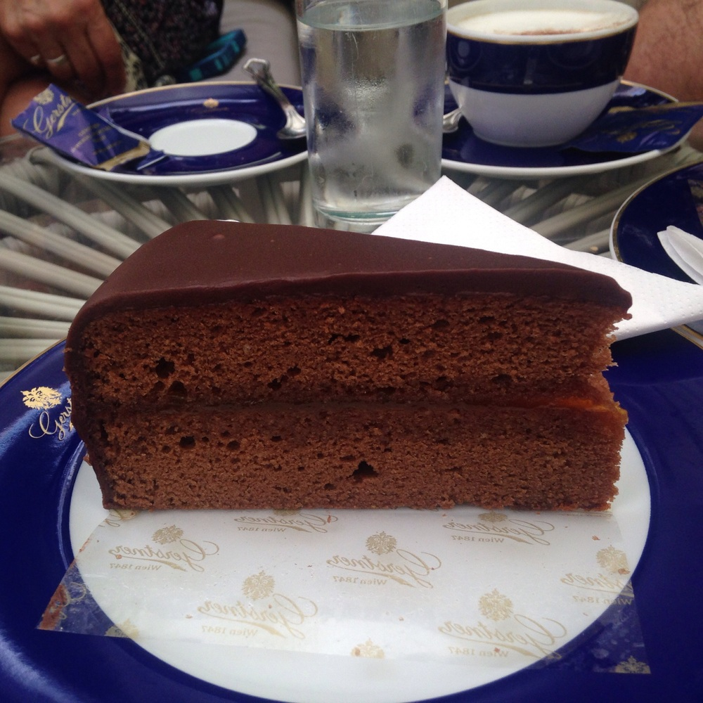 The famous Sachertorte