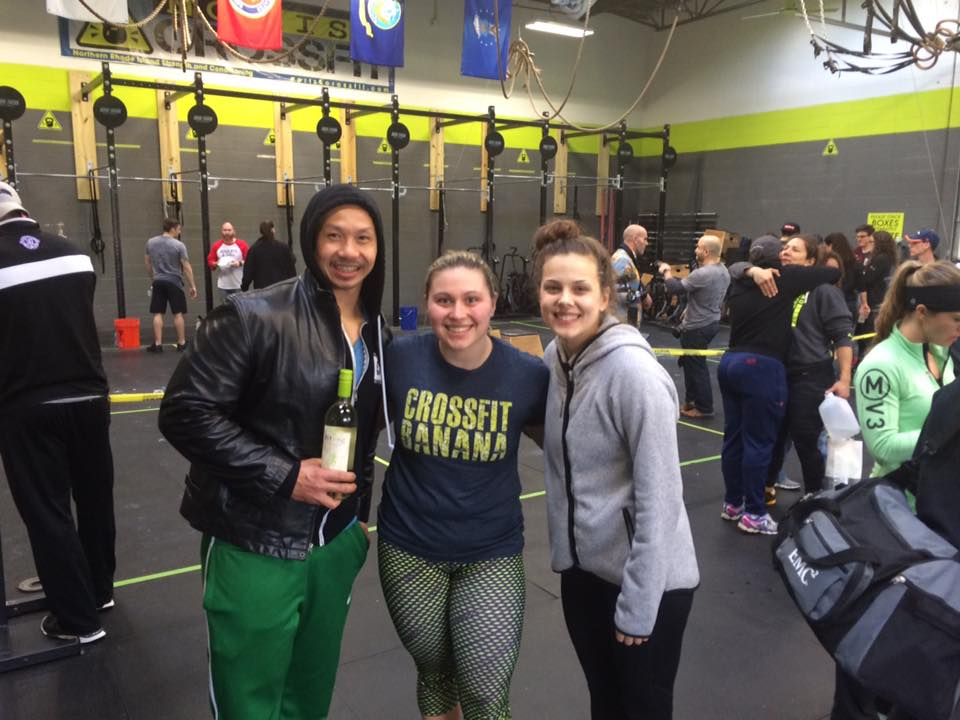 1st place at local CrossFit competition!