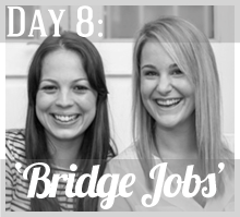 Wednesday, 27th Nov     Kim & Fil   will be writing on:  'Bridge jobs (the secret to financing your creative business)' on  Ruby&Swallow .   Connect with Kim & Fil on Twitter @RubyandSwallow  and on Fa  cebook .