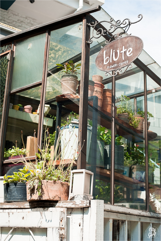 Blute Flower Cafe Seoul South Korea Citygirlsearching