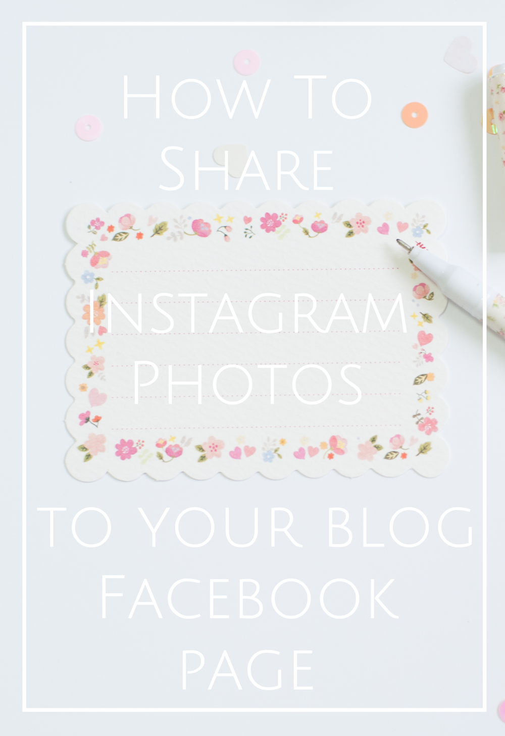 HowToShareInstagramPhotosToBlogFacebookPage
