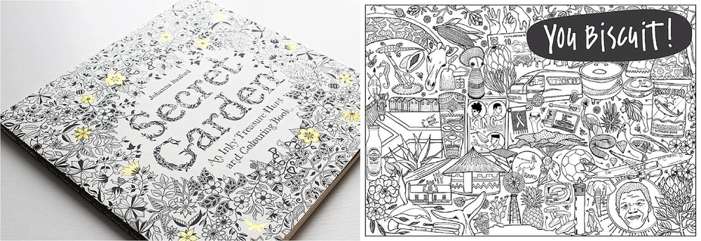 Secret Garden Anti Stress Adult Colouring Book by Johanna Basford ...