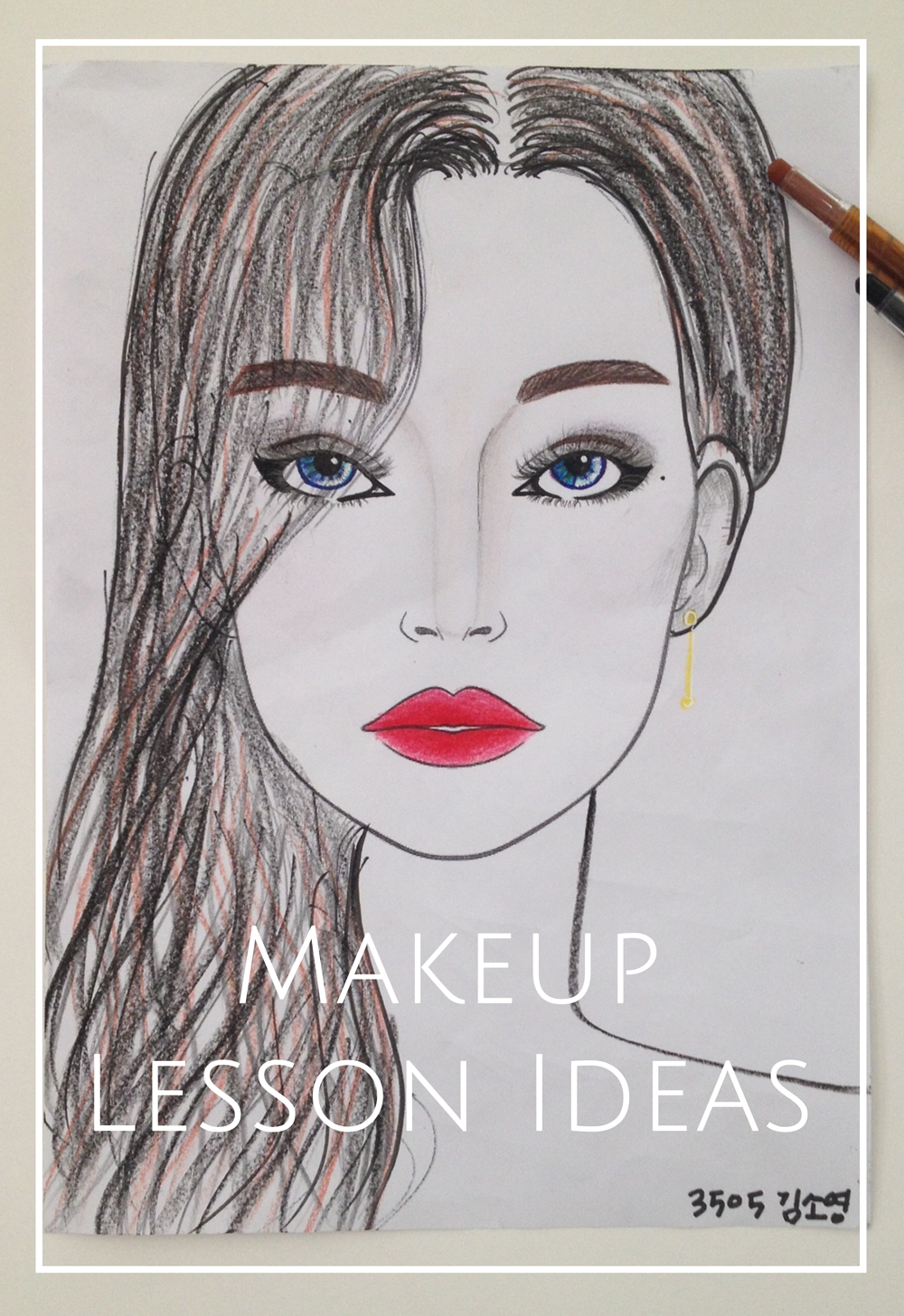 makeup lesson idea middle school girls south korea