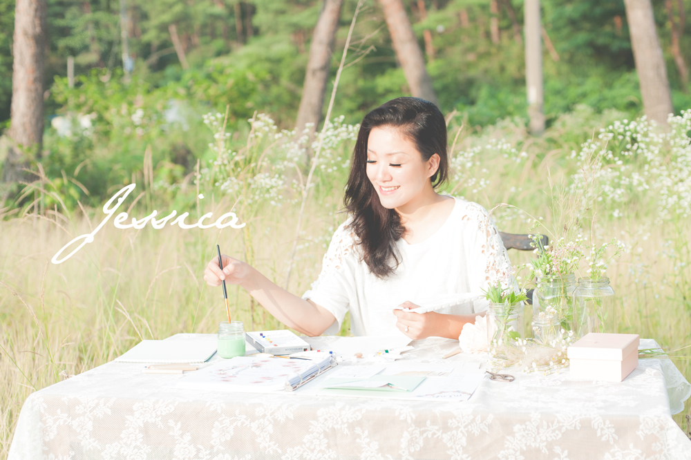 Boho Bridal Styled Shoot South Korea