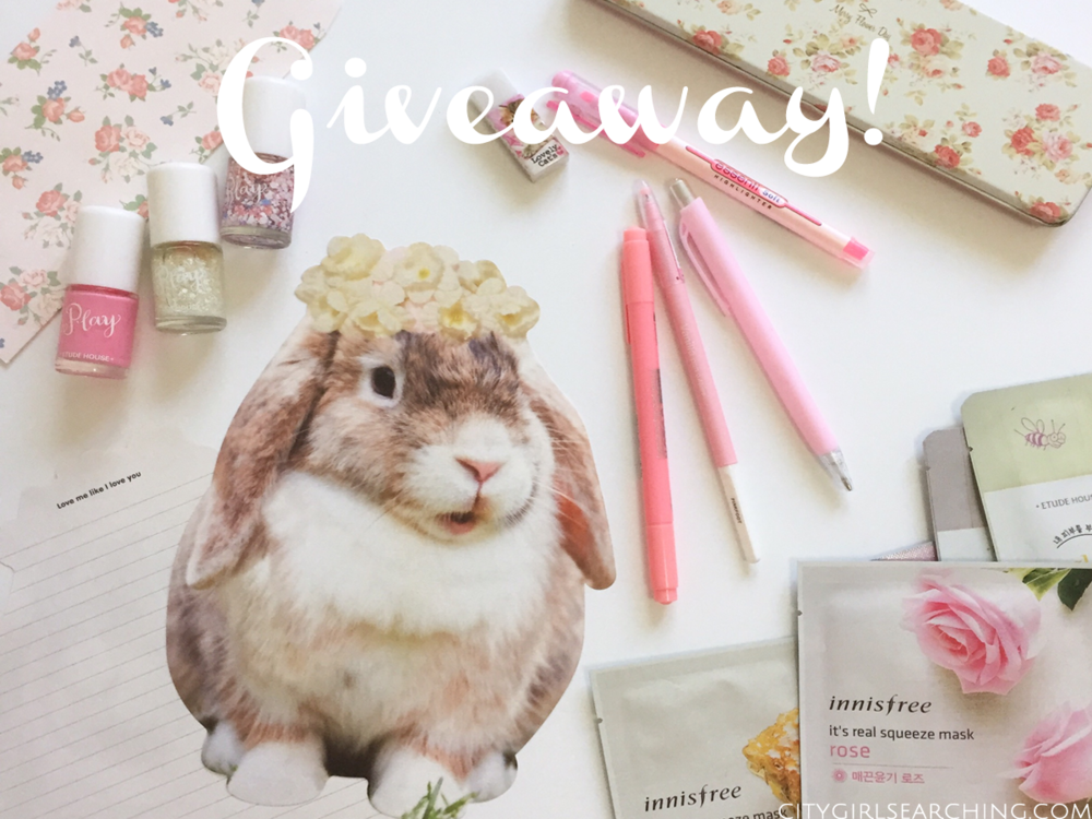 korean stationery giveaway