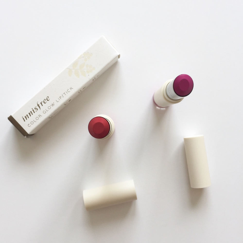 Innisfree Colour Glow liptick review