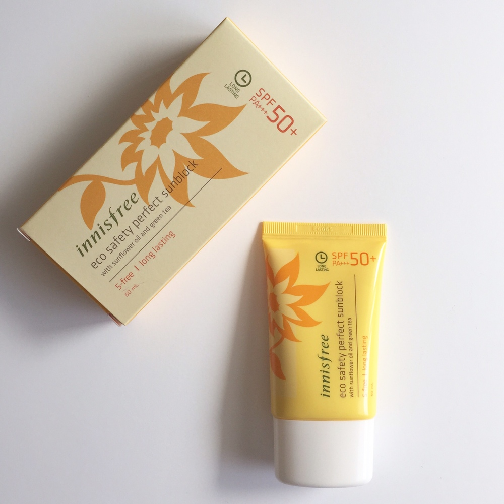 Innisfree Eco Perfect Sunblock Korean Suncream