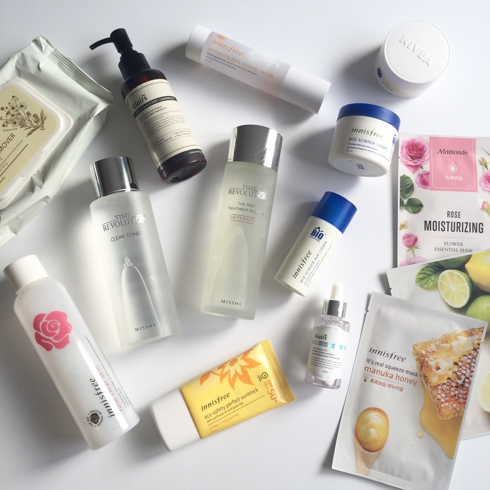 Korean Beauty 10 Step Skincare Routine