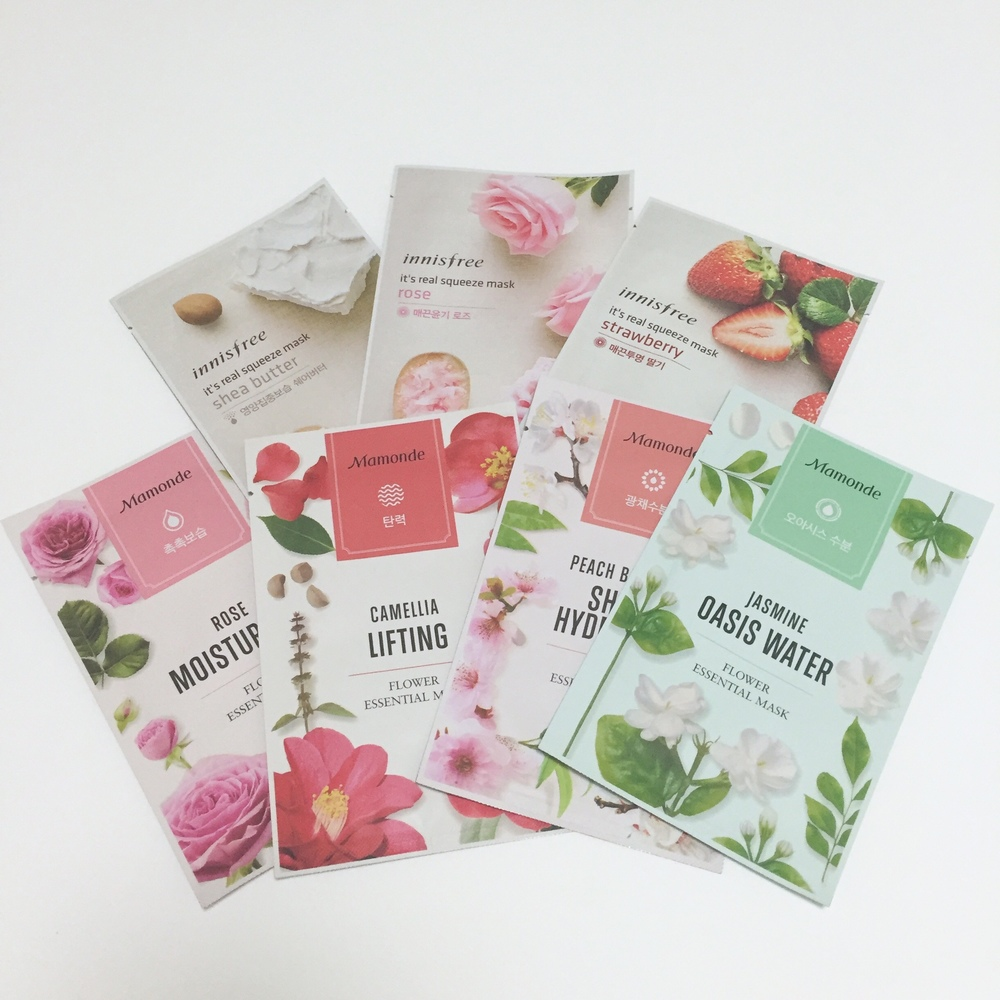 Korean Skincare Sheet Masks CityGirlSearching