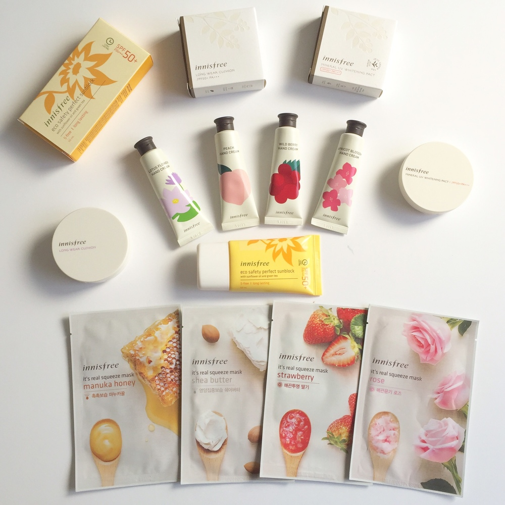korean face products
