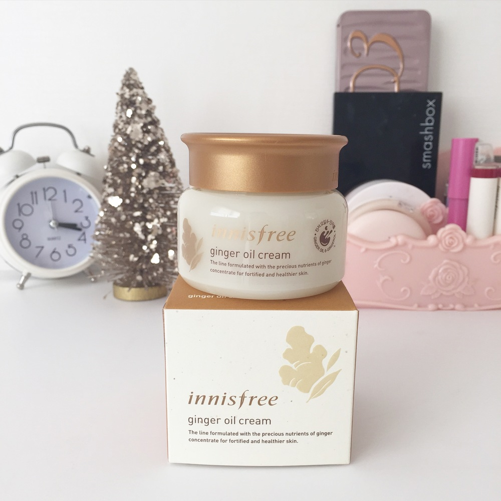 Innisfree Ginger Oil Cream Review CityGirlSearching