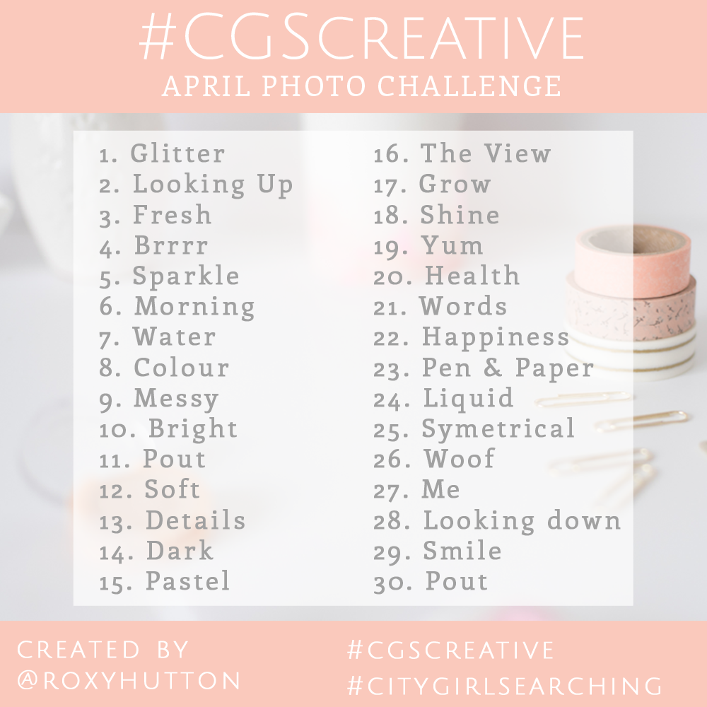 #CGScreative april photo challenge
