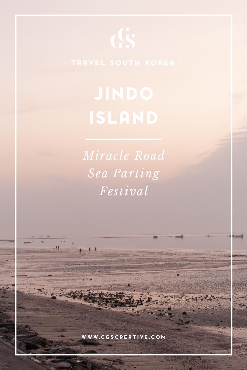 Jindo Island Sea Parting Festival Korea
