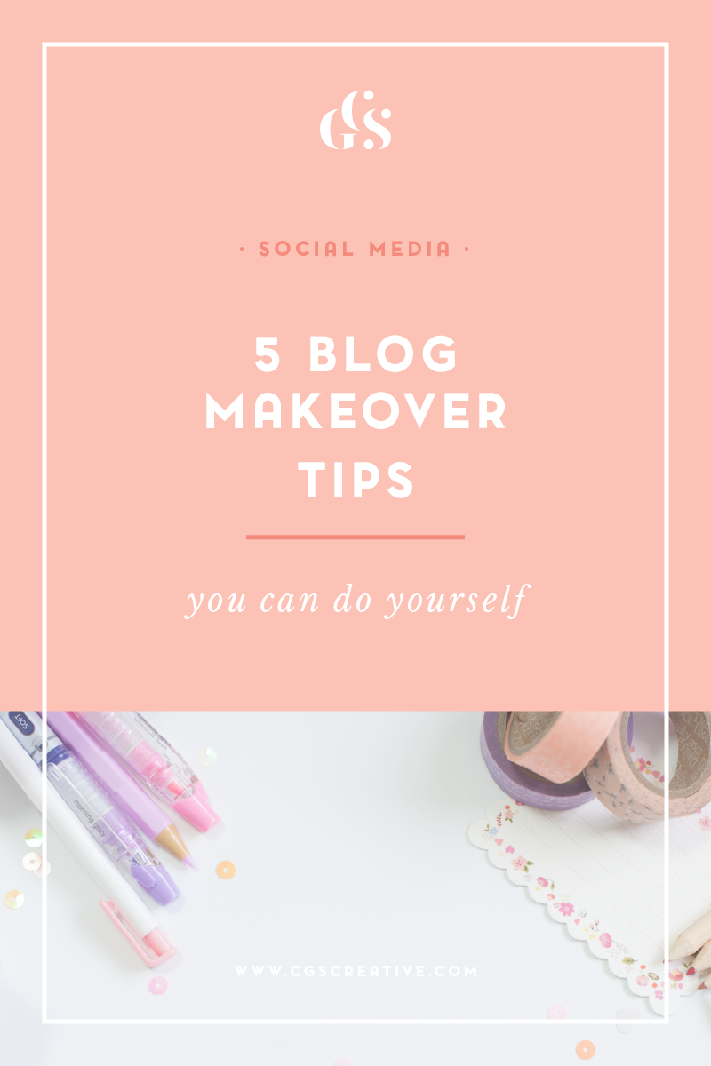 Blog Makeover Tips for the perfect blog by citygirlsearching
