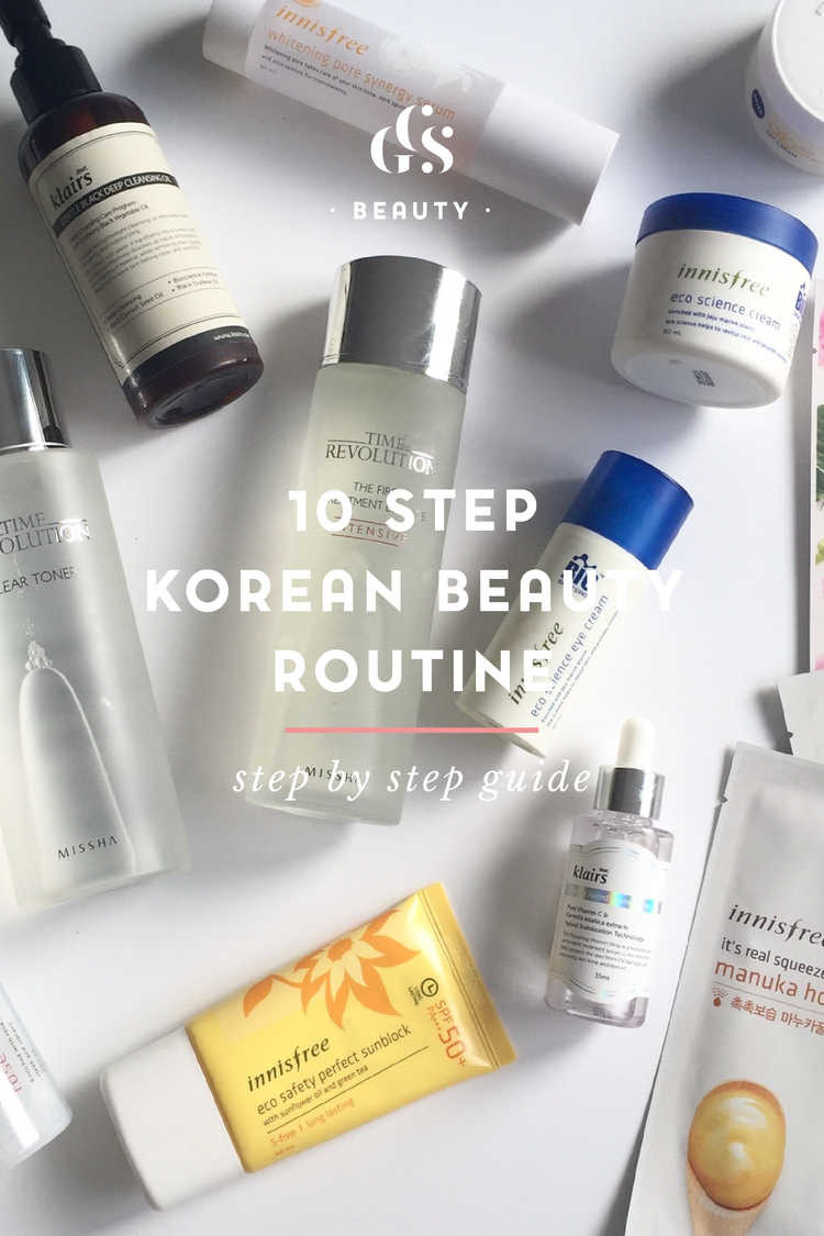 bea1206e70 Korean Skincare Products: What goes Where & The Infamous 10 Step Skincare  Routine