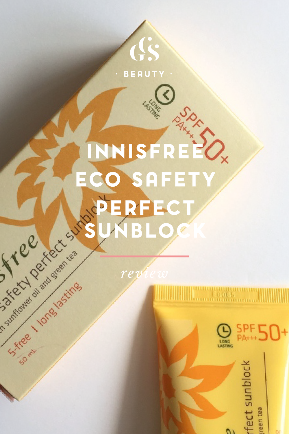 Innisfree Eco Safety Perfect Sunblock 50+ PA++ {Review}