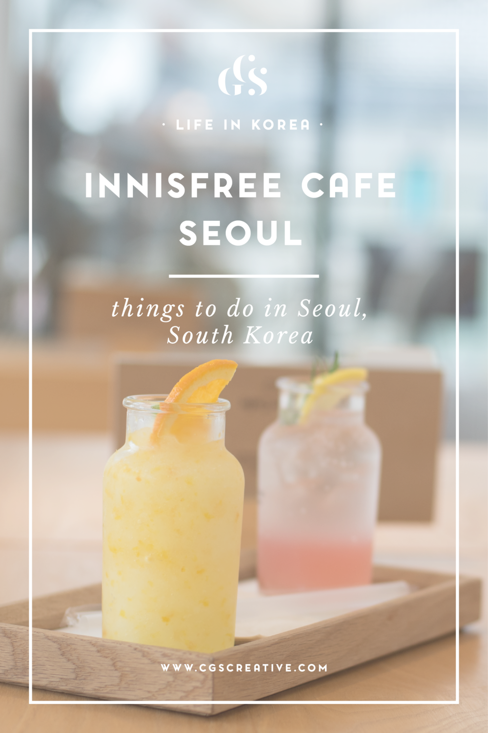 Innisfree Cafe Seoul South Korea
