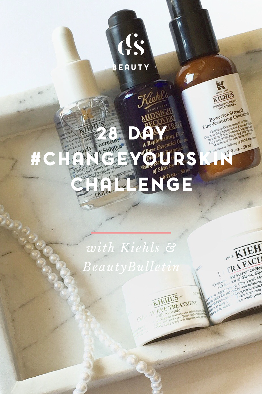 28 Day #ChangeYourSkin Challenge with Kiehls & BeautyBulletin by Roxy Hutton of CGScreative