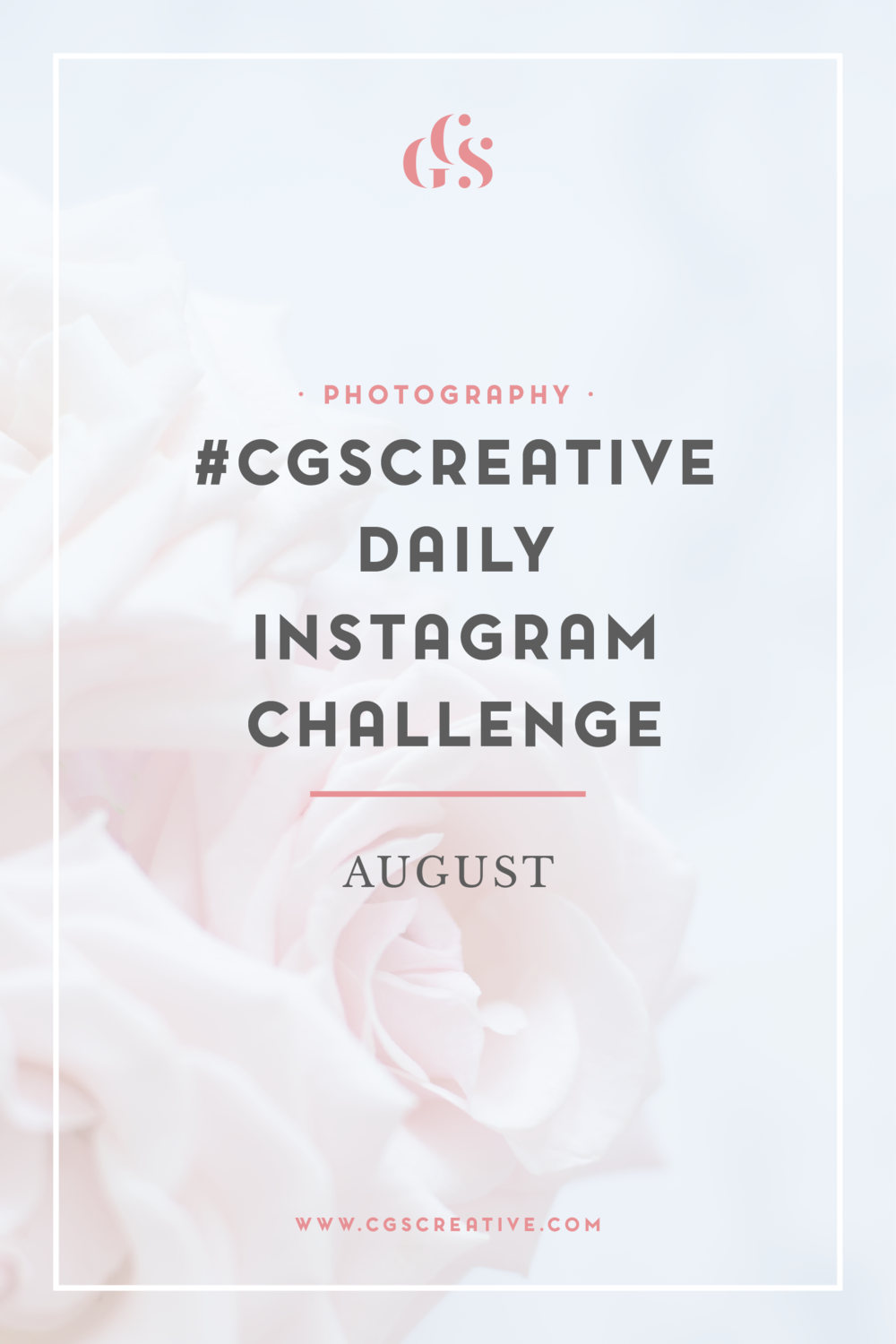 CGScreative Instagram Challenge How to Grow your Instagram Following
