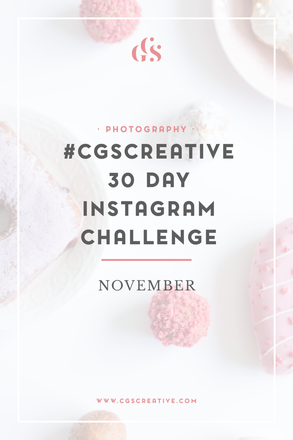 CGScreative Instagram Photo Challenge How to grow your Instagram
