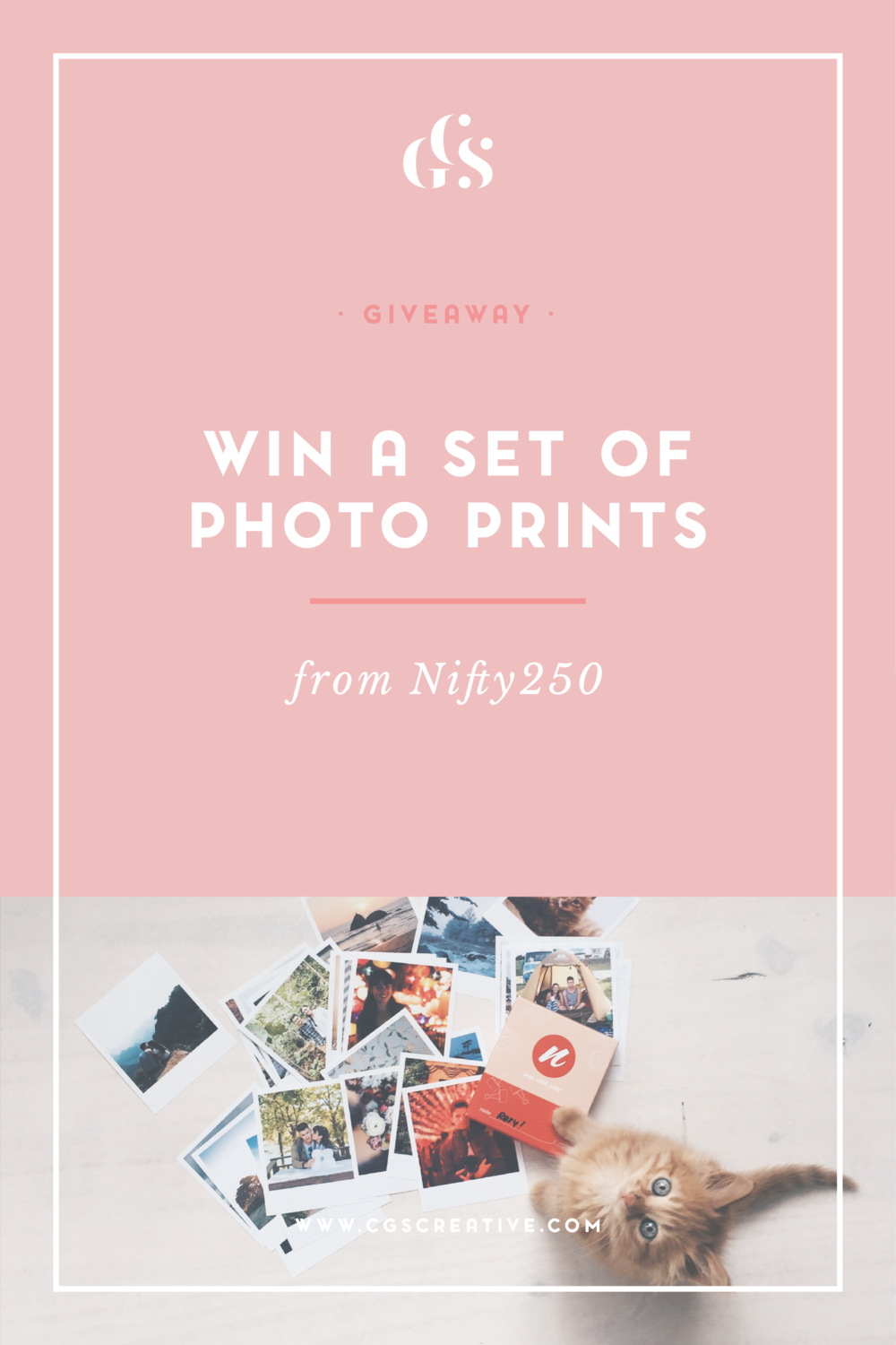 win set of instagram photo prints from nifty250 cgscreative