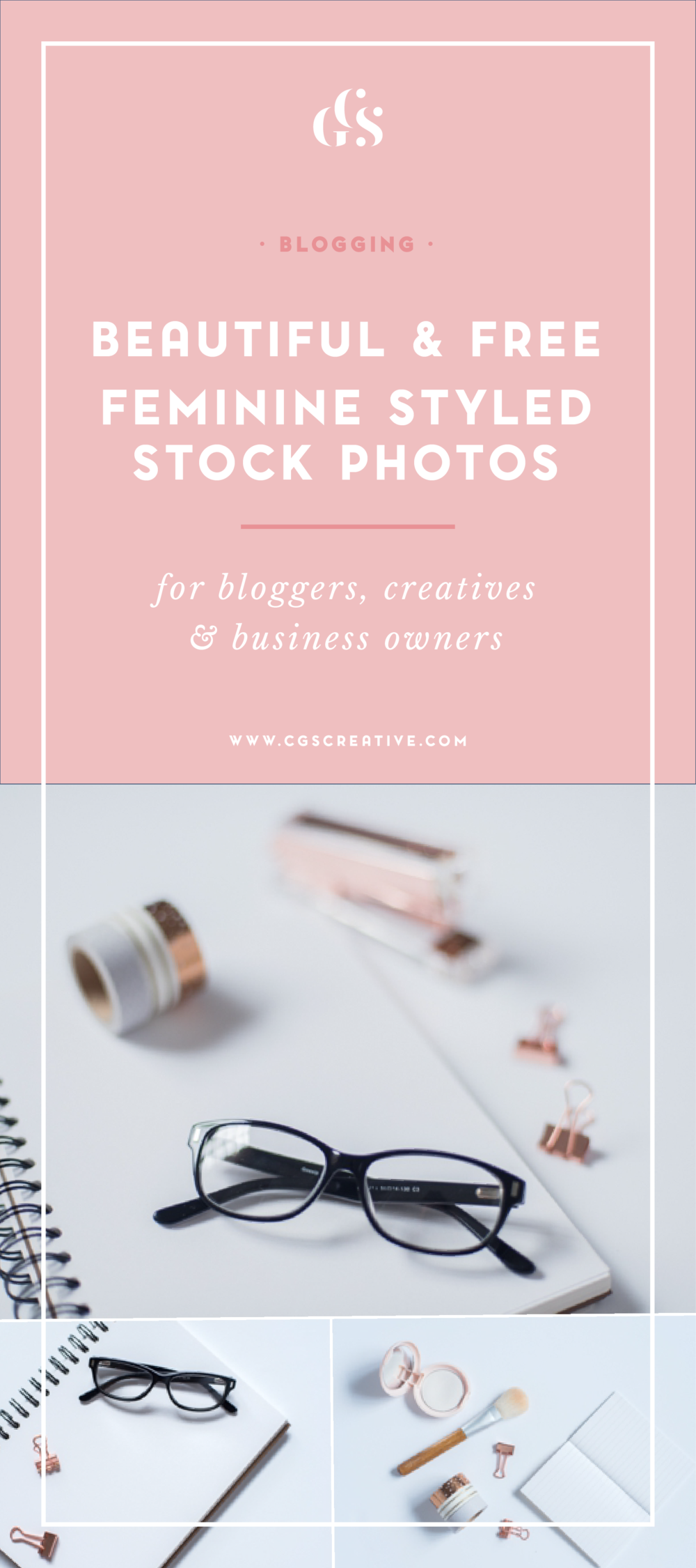 Beautiful & Free Feminine Styled Stock Photos for Bloggers, Creatives & Business Owners
