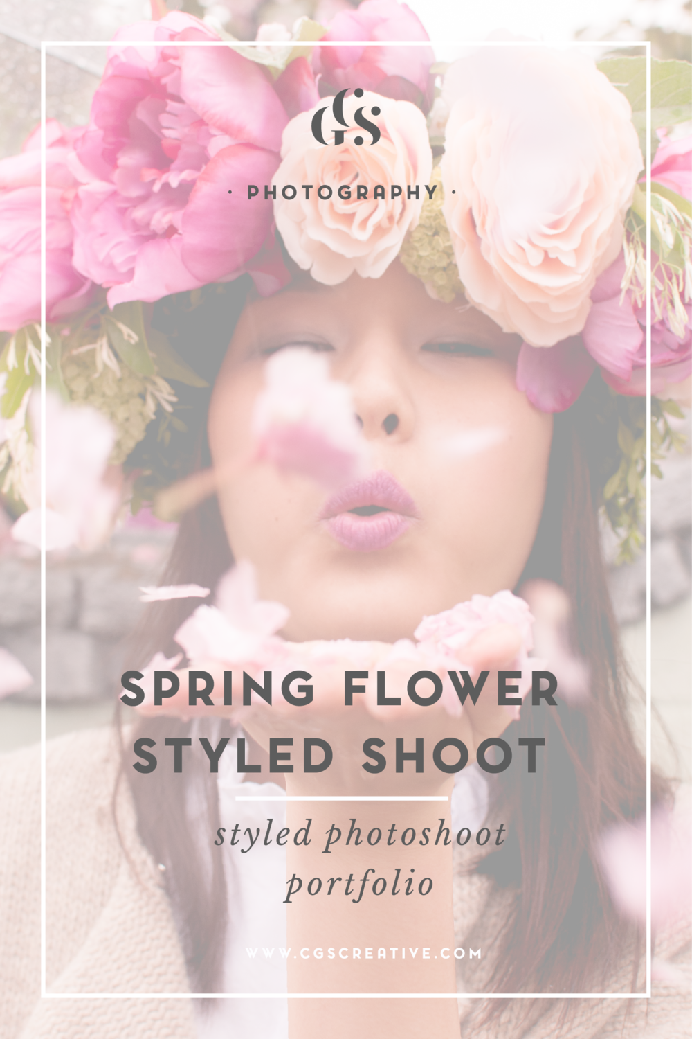 Korean spring flower crown styled shoot citygirlsearching izmirmasajfo